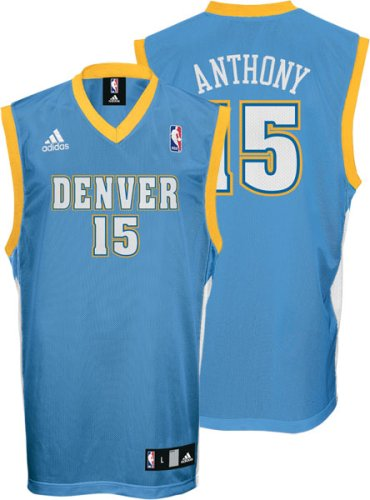 best sneakers b537c d949a denver nuggets anthony jersey