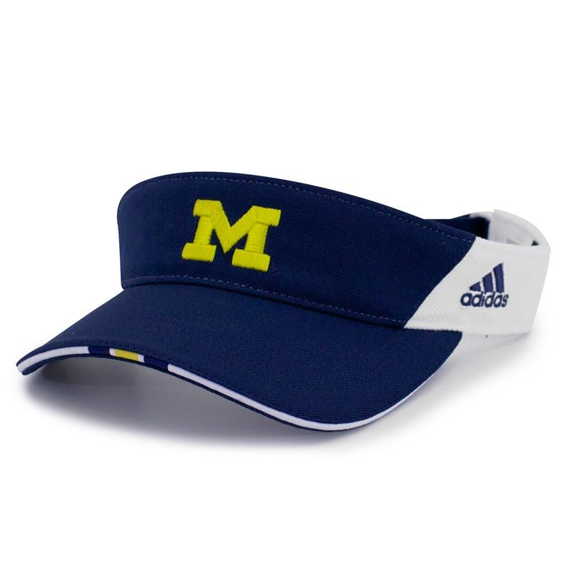 eastern michigan university baseball cap women wolverines navy softball adjustable visor of fitted hat