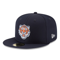 New Era Detroit Tigers Navy 59Fifty 2018 On-Field Prolight Batting Practice Fitted Cap