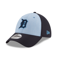 New Era Detroit Tigers Blue 39Thirty 2018 Father's Day Stretch Fit Cap