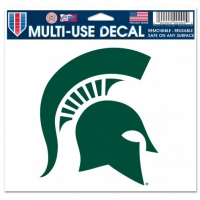 "Wincraft Michigan State Spartans Mutli-Use Colored Decal 5"" x 6"""