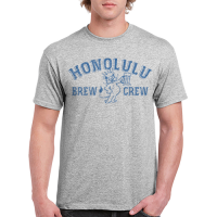 Motor City Bad Boys Sport Gray Honolulu Brew Crew Tee