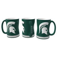 Boelter Brands Michigan State Spartans Sculpted Relief Mug