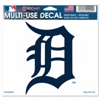 "Wincraft Detroit Tigers Multi-Use Colored Decal 5"" x 6"""