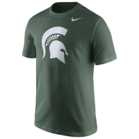 Nike Michigan State Spartans Green Cotton Tee