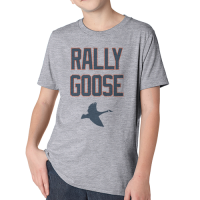 Motor City Bad Boys Youth Heather Gray Rally Goose Premium Crew