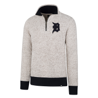 47 Brand Detroit Tigers Anchor Kodiak 1/4 Zip Fleece