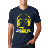 Motor City Bad Boys Midnight Navy Jim Knows Cotton Crew