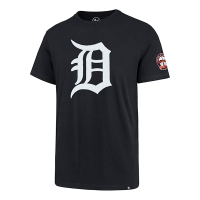 47 Brand Detroit Tigers Fall Navy Knockout Fieldhouse Tee