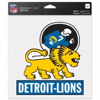 "Wincraft Detroit Lions Classic Logo Perfect Cut Decal 8"" x 8"""