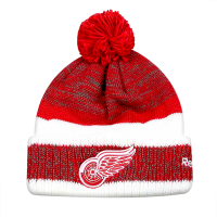Reebok Detroit Red Wings Youth Red Team Cuffed Knit