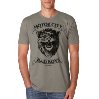 Motor City Bad Boys Warm Gray Lion Premium Crew