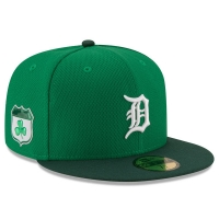 New Era Detroit Tigers Green 59Fifty St. Patrick's Day Fitted Cap