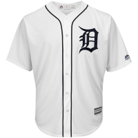 Majestic Detroit Tigers Home White 2018 Cool Base Jersey