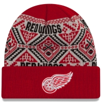 New Era Detroit Red Wings Red Cozy Cuff Knit Cap