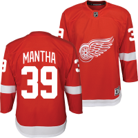 Detroit Red Wings Youth Red Anthony Mantha Replica Jersey