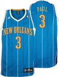 Adidas New Orleans Hornets Youth Teal Chris Paul Replica Jersey