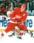 Detroit Red Wing Sergei Fedorov 8X10 Autographed Photo #3