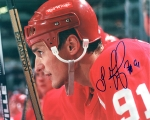 Detroit Red Wing Sergei Fedorov 8X10 Autographed Photo #4