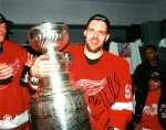 Detroit Red Wing Tomas Holmstrom 8X10 Autographed Photo #1