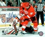 Detroit Red Wing Tomas Holmstrom 8X10 Autographed Photo #2