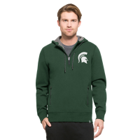 47 Brand Michigan State Spartans Shift Pine Forward Compete Hood