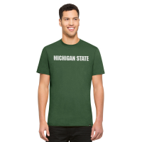 47 Brand Michigan State Spartans Pine Crosstown MVP Flanker Tee