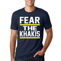 Motor City Bad Boys Midnight Navy Fear the Khakis Premium Fitted Crew