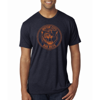 Motor City Bad Boys Vintage Navy Tri-Blend Crew