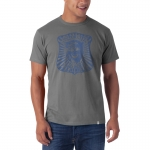 Motor City Bad Boys Wolf Grey Basic Flanker Tee by '47 Brand