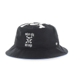 Motor City Bad Boys Black Stapleton Bucket by 47 Brand
