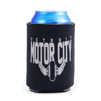 Detroit Motor City Can Koozie