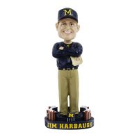 Forever Collectibles Michigan Wolverines Jim Harbaugh Bobble Head