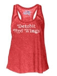 Touch Women's Detroit Red Wings Red Triple Play Tank - By Alyssa Milano