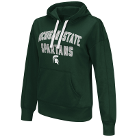 G-III Michigan State Spartans Women's Green Championship Pullover