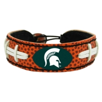 GameWear Michigan State Spartans Classic Football Bracelet