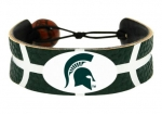 GameWear Michigan State University Spartans Team Color Basketball Bracelet