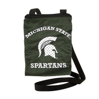 Little Earth Michigan State Spartans Green Game Day Pouch