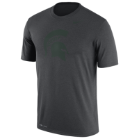 Nike Michigan State Sparts Anthracite Dri-FIT Legend Tee