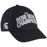 Nike Men's Michigan State University Spartans Black 2014 Rose Bowl Champions Coaches Locker Room Adjustable Cap