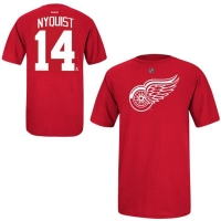 Reebok Youth Detroit Red Wings Gustav Nyquist Name and Number Player Tee