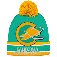CCM California Golden Seals Vintage Cuffed Knit