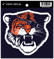 Motor City Bad Boys Tiger w/ Patch Vinyl Decal
