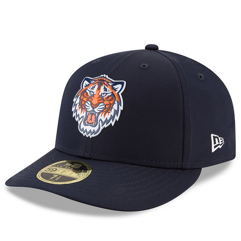 dc53675ec97d9e New Era Detroit Tigers Navy 59Fifty Low Crown On-Field Prolight Batting  Practice Fitted Cap