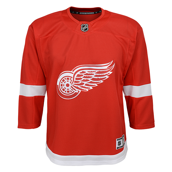 finest selection 579d4 3ae64 Detroit Red Wings Youth Red Replica Jersey