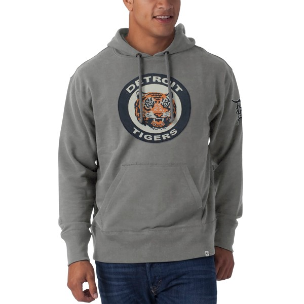 lower price with ae5b0 be73b 47 Brand Men's Detroit Tigers Striker Full Zip Hoodie