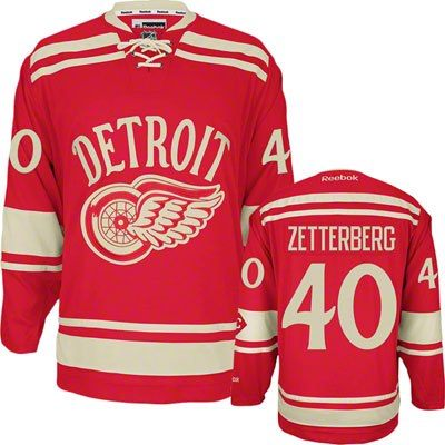 Reebok Men s Detroit Red Wings Henrik Zetterberg 2014 NHL Winter Classic  Premier Jersey efaef9914