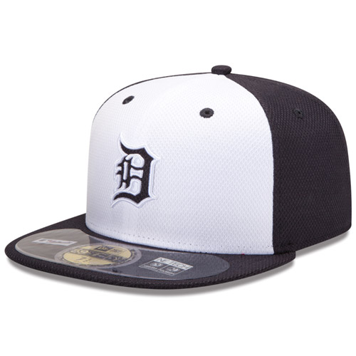 New Era Detroit Tigers 59Fifty Authentic Home Diamond Era Fitted Cap 872819cbb