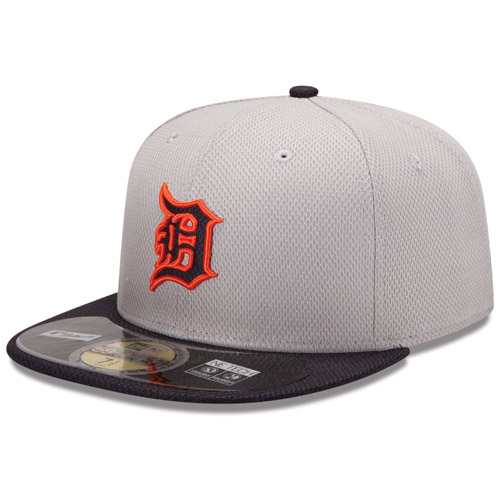 852c58ca1b8eb New Era Detroit Tigers 59Fifty Authentic Road Diamond Era Fitted Cap
