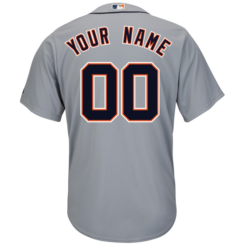the best attitude c8e98 8457b Majestic Detroit Tigers Personalized 2015 Cool Base Road Jersey